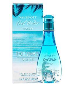 Davidoff eau de toilette cool water woman exotic summer limited edition 100ml