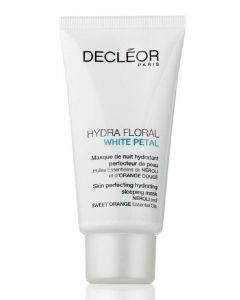 Decléor paris hydra floral white petal skin perfecting hydrating sleeping mask 50ml