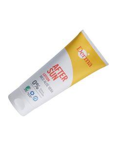 Derma after sun lotion med aloe vera 0% 200ml