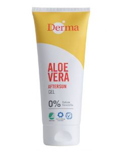 Derma aloe vera after sun gel 0% perfume 200ml