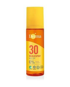 Derma sololiespray 30 høj SPF 0% 150ml