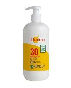 Derma sun lotion SPF30 high 0% perfume 500ml