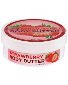 Derma V10 strawberry body butter 220ml