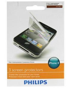 Philips 3 skærmbeskyttelse til Iphone 4
