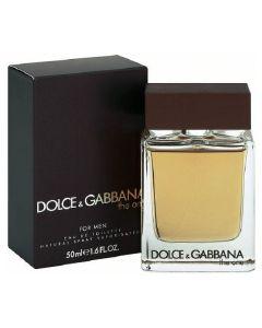 Dolce & gabbana eau de toilette for men the one 50ml