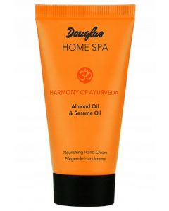 Douglas home spa harmony of ayurveda almond oil & sesame oil nourishing hand cream 75ml