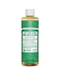 Dr. Bronner's 18-in-1 almond pure-castile soap 475ml