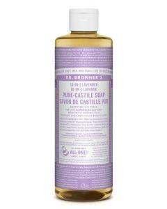 Dr. Bronner's 18-in-1 lavender pure-castile soap 475ml