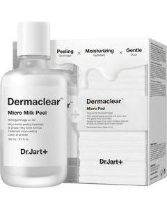 Dr. Jart dermaclear micro milk peel - 2 dele