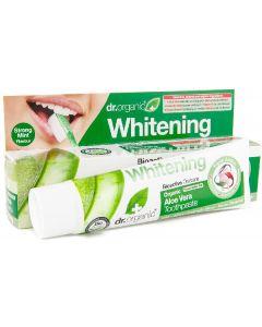 Dr. Organic whitening organic aloe vera toothpaste 100ml