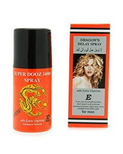Dragon's delay spray super dooz 34000 spray with extra vitamine e for men 45ml
