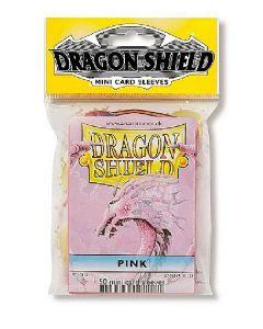 Dragon shield 50 mini card sleeves pink