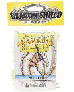 Dragon shield 50 mini card sleeves white