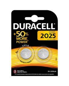 Duracell 2025 batteri DL/CR 3V lithium 2 pack