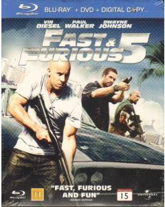 "Blu-Ray Fast & Furious 5 ""Tripple Play Version"""