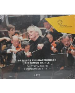 Dvd berliner philharmoniker sir simon rattle - 2 dvd'er