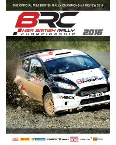 Dvd BRC msa british rally championship 2016
