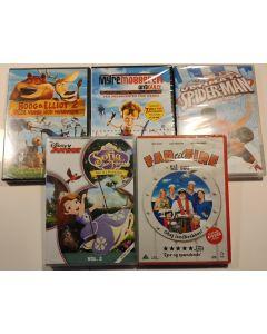 Dvd filmpakke 2 - Børnefilm 5 film samlet