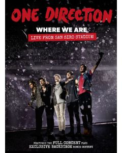 "Dvd One Direction - Where We Are ""Live From Sain Siro Stadium"""
