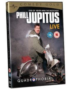 Dvd Phill Jupitus - Quadrophobia