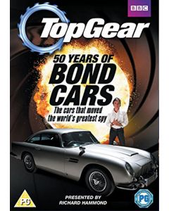 Dvd topgear 50 years of bond cars