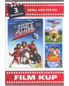 Dvdbox Børnefilm 3 (med 3 film)