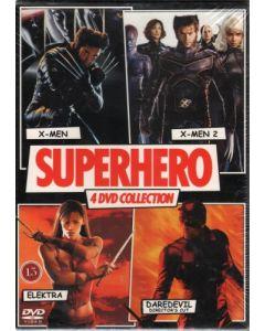Dvdbox Superhero 4 dvd Collection (4 Film)