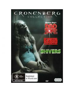 Dvdbox cronenberg collection på 3 dvd'er