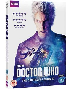 Dvdbox doctor who - the complete series 10 på 6 dvd'er
