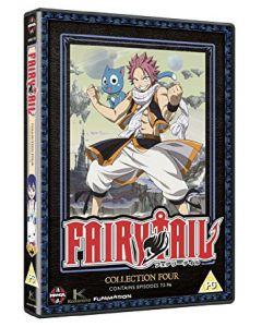 Dvdbox Fairytail - Collection Four - Episodes 73-96