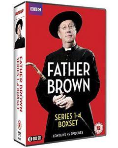 Dvdbox father brown - serie 1-4