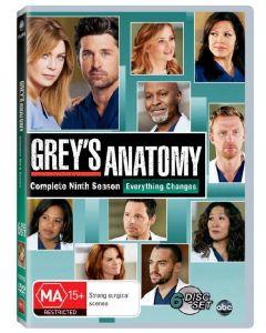 Dvdbox Grey's Anatomy - Complete Ninth Season