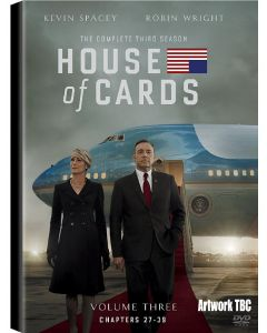 Dvdbox House of Cards - The Complete Third Season