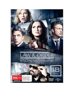 Dvdbox law & order special victims unit - sæson 18