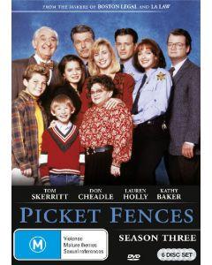 Dvdbox picket fences - season 3 på 6 dvd'er