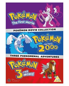 Dvdbox pokémon movie collection
