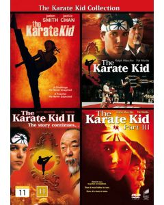 Dvdbox the karate kid collection - 4 film
