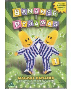 Dvdfilm Bananer i Pyjamas 1 - Magiske Bananer