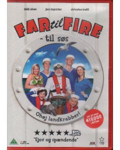 Dvdfilm Far til Fire - Til Søs
