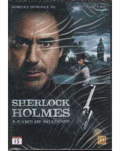 Dvdfilm Sherlock Holmes 2 - A Game of Shadows