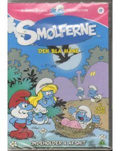 """Dvdfilm Smølferne 17 - Den Blå Måne """"4 afsnit"""""""