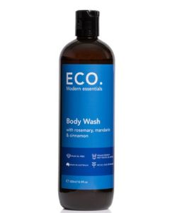 ECO. Modern essentials body wash with rosemary mandarin & cinnamon 500ml