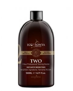 ECO by sonya driver 2 hour professional tanning solution deep earthy brown tones 500ml