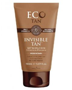 ECO by sonya driver invisible tan self tanning creme medium/dark 150ml