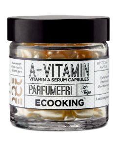 Ecooking a-vitamin serum capsules parfumefri 60 stk.