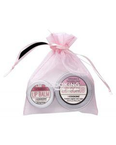 Ecooking lip sampak - lip scrub + lip balm