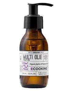 Ecooking multi olie økologisk jojoba & sesam 100ml