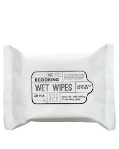 Ecooking wet wipes aloe vera ekstrakt 30 stk.