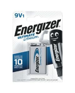 Energizer batteri ultimate lithium 9V