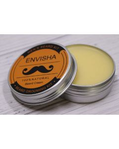 Envisha men's beard kit 100% natural beard cream 60g